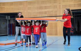 Kids-Volley Training November 2018